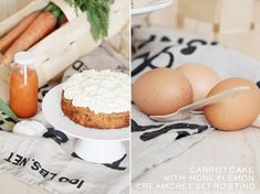 * magnoliaelectric: YYY - YummY fridaY {carrotcake with creamcheesehoney frosting}