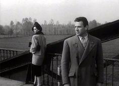Paola (Lucia Bosé) en Guido (Massimo Girotti) proberen weer nader tot elkaar te komen in Cronaca di un amore