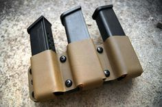 Kydex triple mag pouch