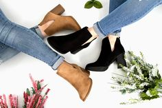 We're crushing hard on cut out booties this spring! Find your new favorite pair at Glik's!