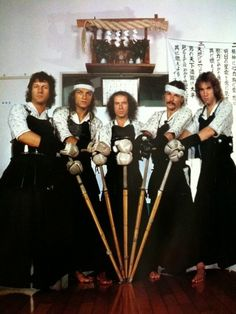 Check out this photo! Scorpions ready for Kendo! We're done here.