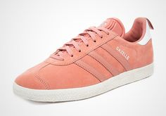 A Rose Colored adidas Gazelle Made Especially For The Ladies