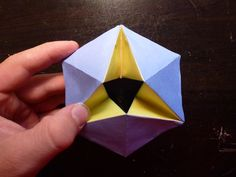 Picture of Kaleidocycles- A fun, 3D origami project that changes colors as you rotate it