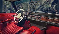 1971 Mercedes Benz 280S W108 interior