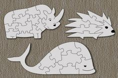 Free Scroll Saw Patterns by Arpop: Scroll Saw Puzzles