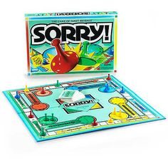 Sorry! Board Game -- Still love playing this!