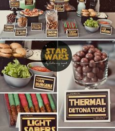Star Wars Party Food @Natalie Jost Jost Sudia
