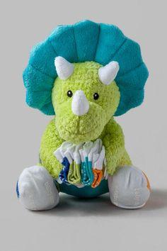 Tricerasocks - Plush Gift Set with Socks for Baby #plush #babysocks #triceratops