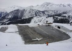 Courchevel Airport – France