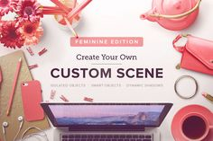 Check out Custom Scene - Feminine Ed. - Vol. 1 by Román Jusdado on Creative Market