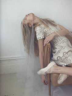 Josephine Skriver in 'That Was My Veil' Photographer: Yelena Yemchuk Dress: Valentino S/S 2012 Lula #14 S/S 2012