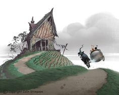 ESMELIA'S HOUSE - From the kid's book, 'How to Cook Children'.