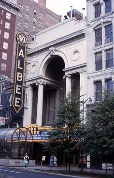 Sadly, it was torn down in 1977 and a hotel was constructed in its place. Some portions of the theater were saved and are now located in other buildings including Music Hall and the Public Library of Cincinnati and Hamilton County.    The facade was also later duplicated on the 5th Street side of the Albert B. Sabin Convention Center — about 3 blocks from where the original theater once stood.