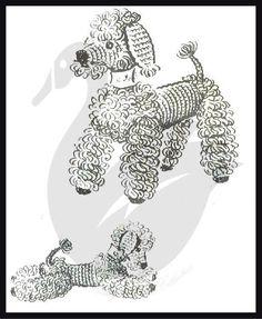 Peppy the Poodle Crochet Project Pattern