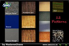 Blackys Sims 2 & Sims 3 Zoo - Today we have a huge variety of pattern for you!...