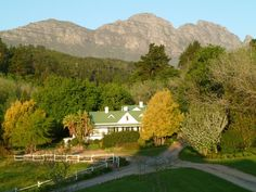 Knorhoek Wine Estate, Cape Town, South Africa