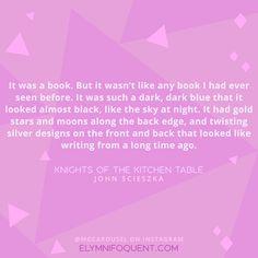 Knights of the Kitchen Table by John Scieszka | #MGCarousel #IReadMG #kidlit #mglit #amreading #bookblogger #bookquote #quoteoftheday