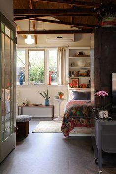 Converted LA Garage Into Cottage Via Gardenista. Fantastic Layout For 400  Sq Foot Garage.