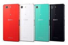 Xperia Z3 Compact smartphone comes in 4 stunning colors