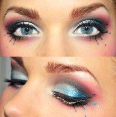 make com azul e rosa