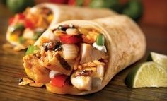 You should try one or more of the delicious burritos below. You won't regret it! We hope you enjoy 19 of the best healthy burrito recipes. Mexican Food Recipes, Soup Recipes, Chicken Recipes, Healthy Recipes, Healthy Soup, Mexican Dishes, Dinner Healthy, Cat Recipes, Healthy Chicken