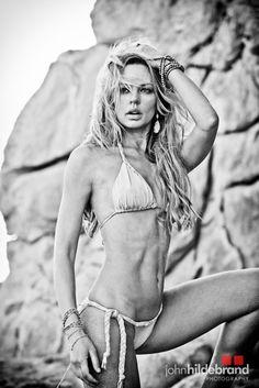 Celeb photographer John Hildebrand shoots with Rock & Revolution P.R. actress Natasha Alam of True Blood for Beach Bunny Swimwear /Fashion Week ( wearing Heather Gardner Jewels ). #sexy #swimwear #beachbunny #trueblood #fashion