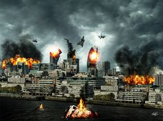 Johnzouan's stories ...: Επίθεση στο Λονδίνο...