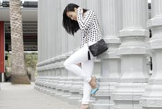 Tips on Staying Organized. Street style look on mikialamode.com