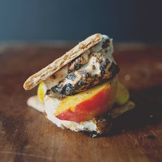 S'Meaches, A Classic Campfire Food, Elevated // The Kitchy Kitchen Kitchen Recipes, Wine Recipes, Real Food Recipes, Dessert Recipes, Snack Recipes, Camping Desserts, Food & Wine Magazine, Campfire Food, Cooking Games