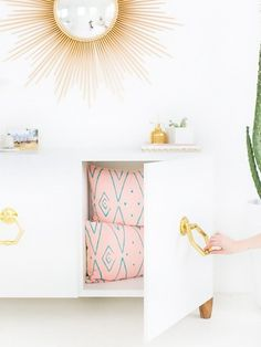 Yes, you can pgrade your first apartment on a shoestring budget. These chic IKEA hacks will elevate your home without the big price tag.