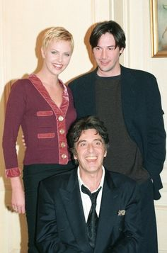 Charlize Theron, Keanu Reeves and Al Pacino from Devil's Advocate