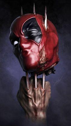 Deadpool Smack T-ShirtEmp. Marvel Vs, Marvel Dc Comics, Marvel Heroes, Marvel Characters, Deadpool Wallpaper, Marvel Wallpaper, Wallpaper Wallpapers, Deadpool Art, Marvel Tattoos