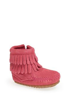 cutest little kid fringe moccasins http://rstyle.me/n/vc3zmr9te