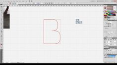 Typeface design timelapse #2