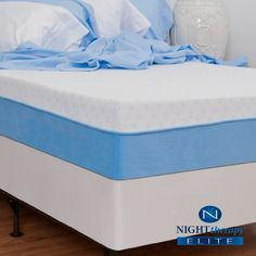 "Night Therapy Elite 10"" MyGel® Premium Memory Foam Mattress - King Night Therapy http://www.amazon.com/dp/B007TBZWFQ/ref=cm_sw_r_pi_dp_Vn.ovb0D4Y55V"