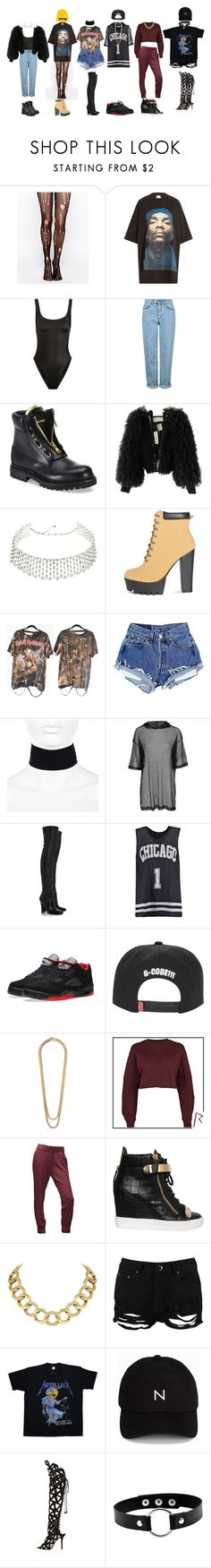 """DC- '휘파람'(WHISTLE)"" by yonce4park ❤ liked on Polyvore featuring Leg Avenue, Vetements, Norma Kamali, Topshop, Balmain, Viktor & Rolf, H.Stern, River Island, Yves Saint Laurent and Boohoo"