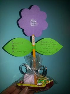 Nice and easy goodbye gifts for pupils! :)