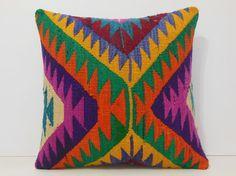 extra large throw pillow 18x18 throw cushion organic pillow cover