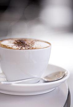 #RMhome  Een heerlijke cappuccino aan het begin van de dag.