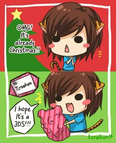 Torakun Comics :: Torakun's Christmas   Tapastic - image 1