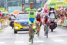 Maciej Bodnar wins stage 4 of the Tour of Poland