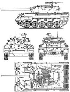 M18 Hellcat blueprint