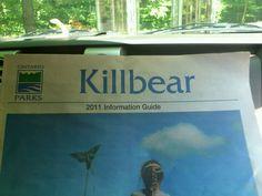 Killbear Provincial Park in Nobel, ON