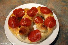 Melissa's Cuisine: Pepperoni Pretzels