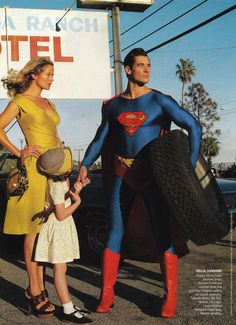 American Vogue, January 2009. Carolyn Murphy & David Gandy