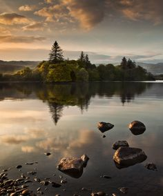 Lough Eske by Gary McParland, via 500px