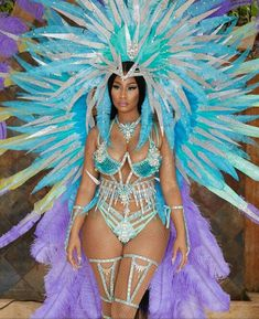 Nicki Minaj Shows Off Her Curves In Sultry Outfit For Carnival In Trinidad. Nicki Minaj Outfits, Nicki Minaj Fotos, Nicki Minaj Barbie, Nicki Minaj Costume, Nicki Minaj Fashion, Nicki Minaji, Beyonce, Carnival Outfit Carribean, Caribbean Carnival Costumes