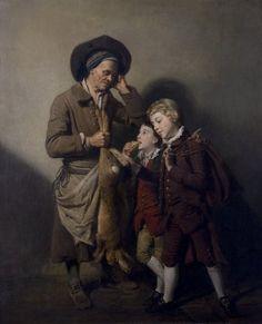 Zoffany,Johann(Germanpainter,1733-1810,activeinEngland),ThePorterandtheHare