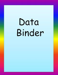 Data Collection Sheets, Progress Monitoring Sheets and Other Free Materials from Autism Classroom.