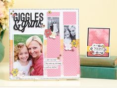 Mother's Day scrapbooking and cardmaking! All you need is this one fabulous stamp.